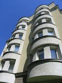 picture of ekaterinburg  - the modern  apartment building - JPG