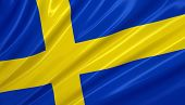 picture of sweden flag  - flag of sweden - JPG