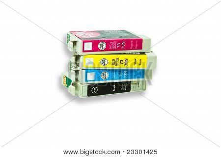 Four-color Ink Cartridge.