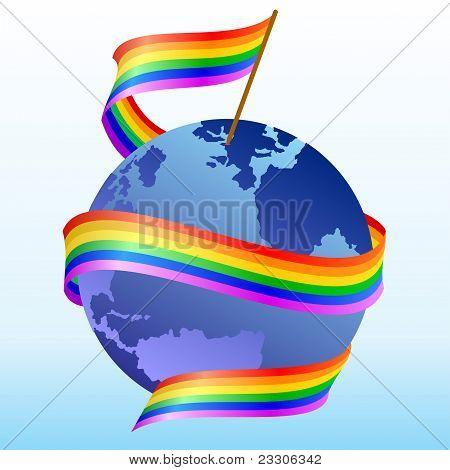 Flag-Regenbogen
