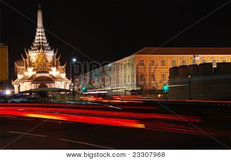 Bangkok city god shrine