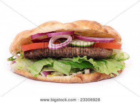 Tasty Sandwich on white