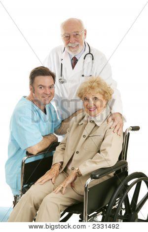 Doctor Nurse & Patient