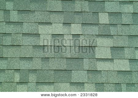 Green Shingles Background