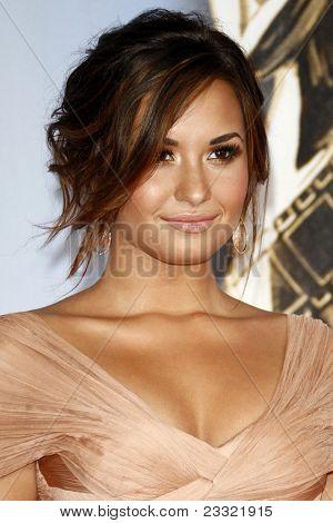 LOS ANGELES - SEP 10:  Demi Lovato arriving at the 2011 NCLR ALMA Awards held at Santa Monica Civic Auditorium on September 10, 2011 in Santa Monica, CA