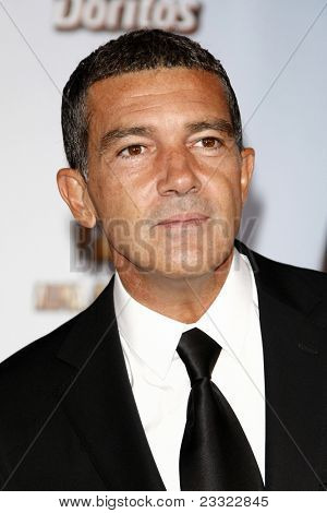 LOS ANGELES - SEP 10:  Antonio Banderas arriving at the 2011 NCLR ALMA Awards held at Santa Monica Civic Auditorium on September 10, 2011 in Santa Monica, CA
