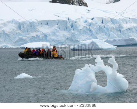 Boat Ride In Antarctica
