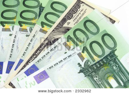 Money: Dollars And Euros
