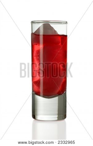 Shot Glass With Drink