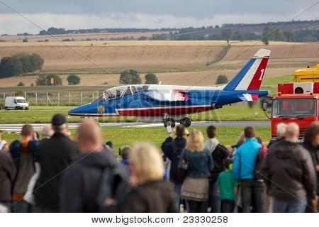 Single Patrouille de France Alpha Jet