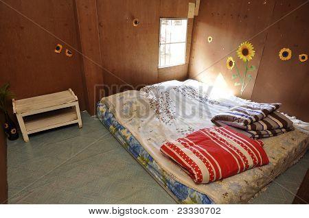 Poor Bed Room Brown Standard