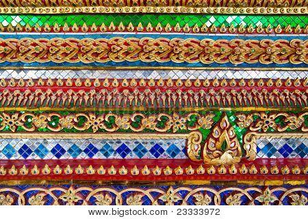 Thai Ornament Texture