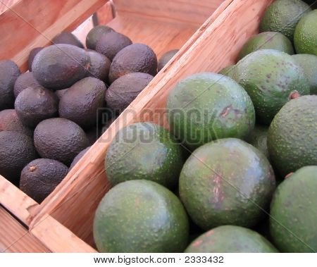 Avocados At The Market