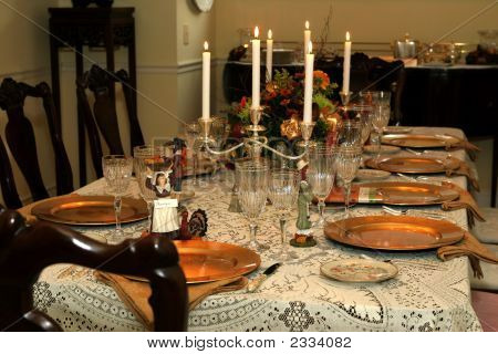 Festive Holiday Tabletop