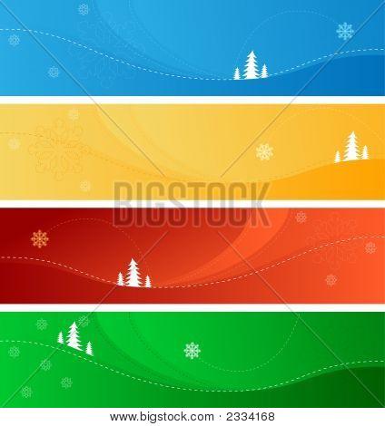 Winter-Weihnachten-Banner