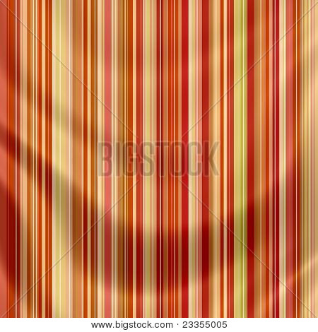Elegantly Flowing Satin Fabric With Retro Stripes