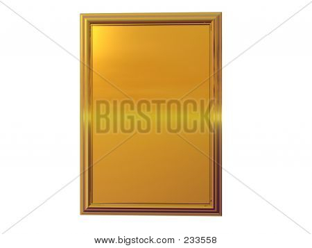 Gold Plaque