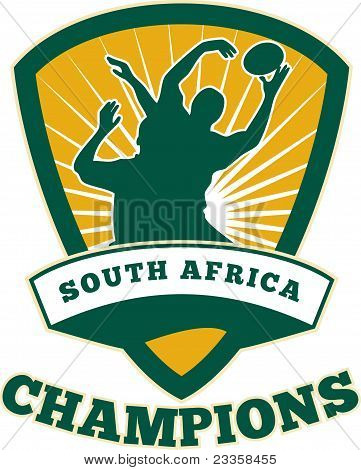 Rugby Player South Africa  Champions