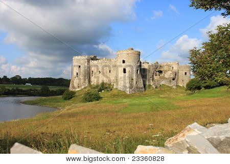 Carew Castle Pembrokeshire