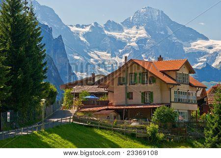 House In Wengen, Switzerland