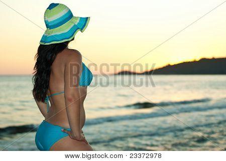 Woman Watching Sea