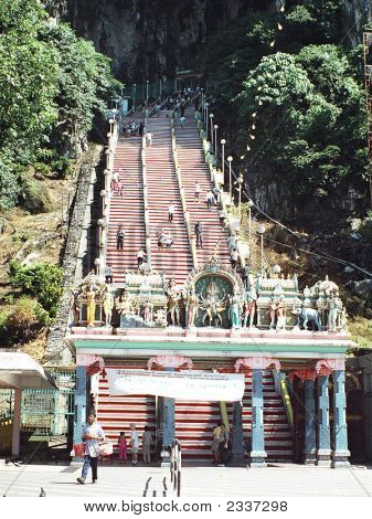 Batu Cave Stairway