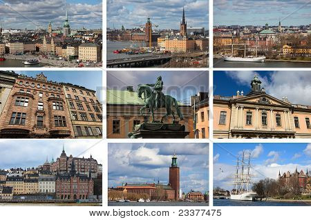 Stockholm collage