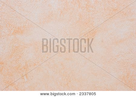 Light Orange-Pink Tuscan Wall