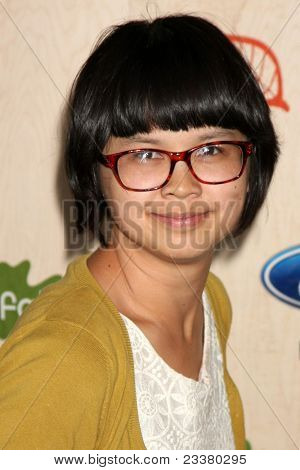 LOS ANGELES - SEP 12:  Charlyne Yi arriving at the 7th Annual Fox Fall Eco-Casino Party at The Bookbindery on September 12, 2011 in Culver City, CA