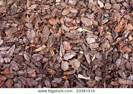 Bark Mulch Hintergrund