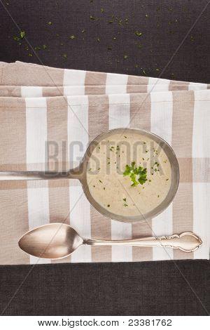 Champignon Cream Soup.