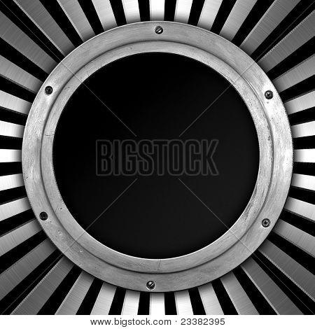 metal porthole