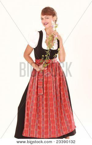 Flor com cheiro de mulher da Baviera