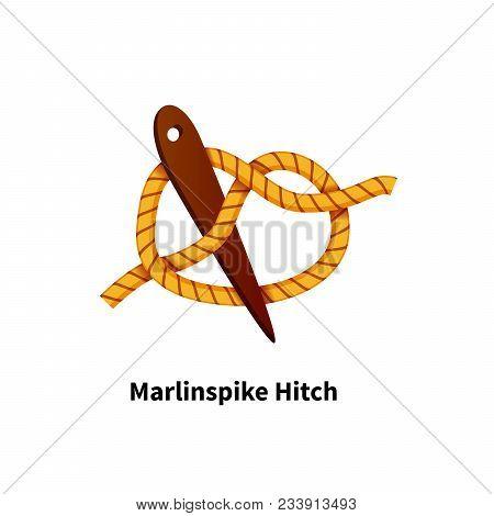 Marlinspike Hitch Sea Knot Bright