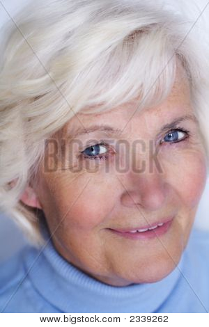 Senior Woman Close-Up 2