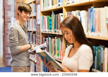 Handsome Student Holding A Book