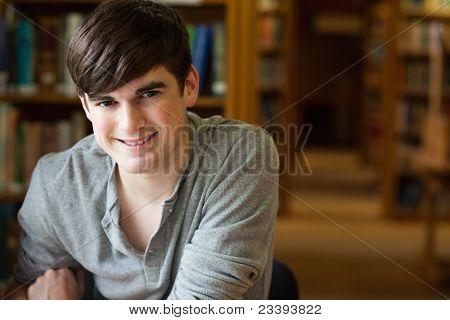 Smiling Student Posing