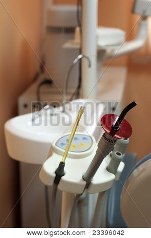 Dental Equipment And Sink
