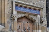stock photo of higher power  - The famous Oxford University in England - JPG