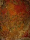 Red Grunge Italian Wall Texture