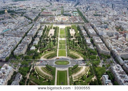 View From Eiffle Tower, Paris, France