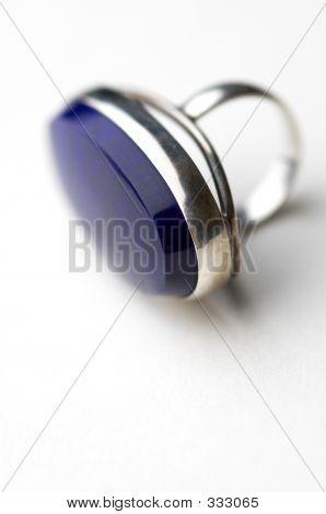 Silver Ring In Macro