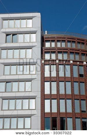Modern office buildings in Berlin