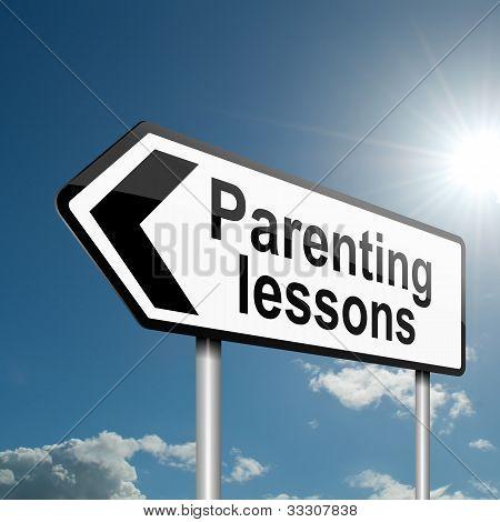 Parenting Lessons.