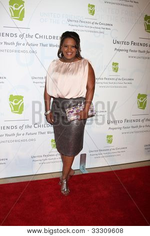LOS ANGELES - MAY 21:  Chandra Wilson arrives at the 2012 United Friends of the Children Gala  at Beverly Hilton Hotel on May 21, 2012 in Beverly Hllls, CA