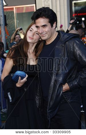 LOS ANGELES - JAN 23: David Copperfield at the premiere of 'Gnomeo & Juliet'  on January 23, 2011 in Los Angeles, California