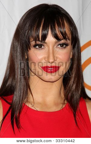 LOS ANGELES - MAY 24:  Karina Smirnoff arrives at the 12th Annual Lupus LA Orange Ball at Beverly Wilshire Hotel on May 24, 2012 in Beverly Hllls, CA