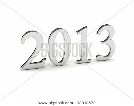 Year 2013 In Silver Numbers