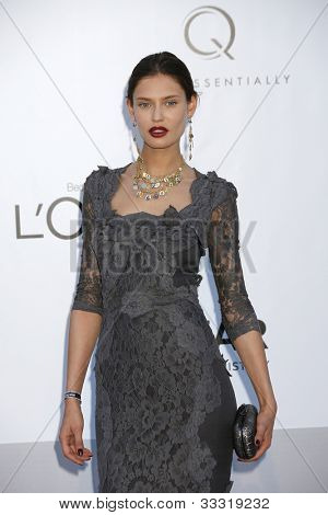ANTIBES  - MAY 24: Bianca Balti at the 2012 amfAR's Cinema Against AIDS at Hotel Du Cap on May 24, 2012 in Antibes, France