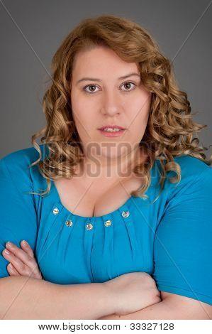 Retrato de mujer gorda